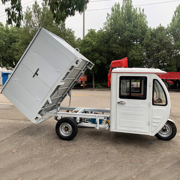 Weather Proof Enclosed E Cargo Tricycle(3W)6
