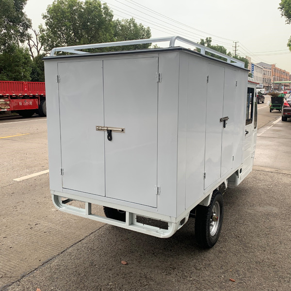 Weather Proof Enclosed E Cargo Tricycle(3W)7
