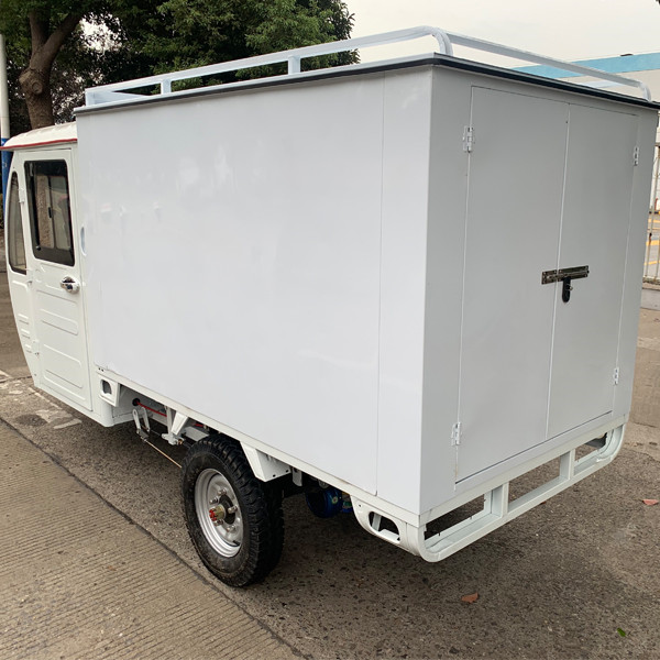 Weather Proof Enclosed E Cargo Tricycle(3W)8